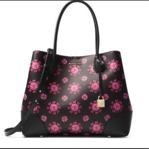 🎀NEW🎀MICHAEL KORS Floral Mercer Tote